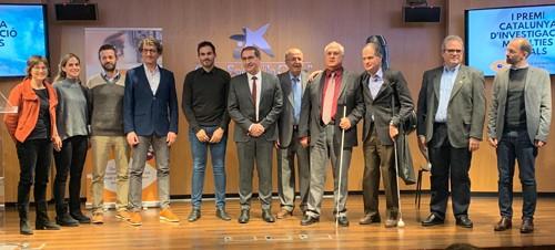 Nominats, guanyador, promotors i president de l'Associació