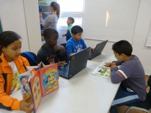 Reforç escolar i educació en el lleure a l' Associacio Educativa Can Palet de Terrassa.