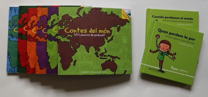 llibres i discs contes del mon