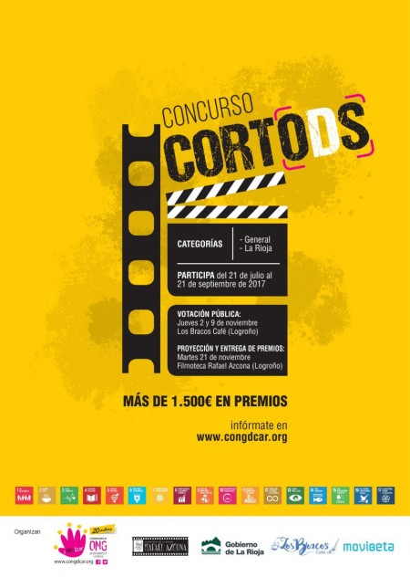 concurso cortos, cortODS, ODS, Agenda 2030, audiovisual, cortometraje, congdcar