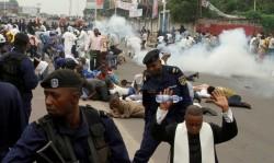Protestes i repressió a la RD Congo (Reuters)