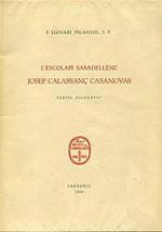 L'escolapi sabadellenc Josep Calassanç Casanovas
