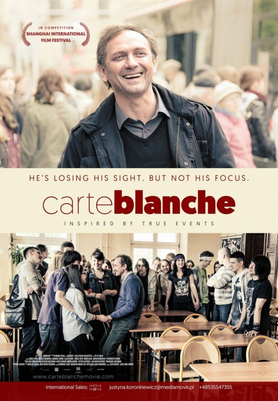 Poster Carte blanche
