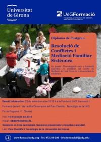 1a edició Postgrau Resolució de Conflictes Familiars