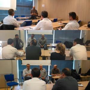Jornada curs mediació nocturna: Eduard Carrera, Xavier Pastor i David Puertas