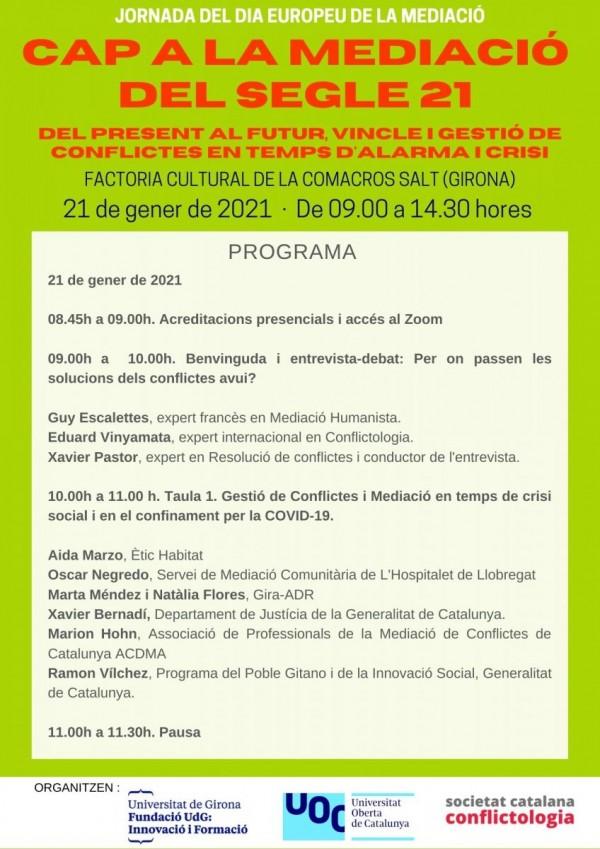 Programa Jornada 21-01-2021