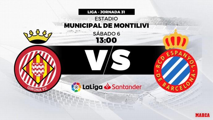 Partit Girona-Espanyol 2019