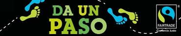 "banner ""Da un paso por Fairtrade"" - Mes Fairtrade 2012"