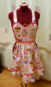 Vintage Apron for a Secret Santa