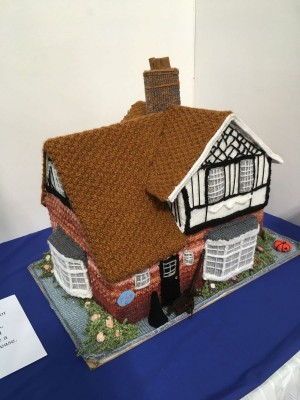 Knitted Buildings Expo by The Dolphin WI