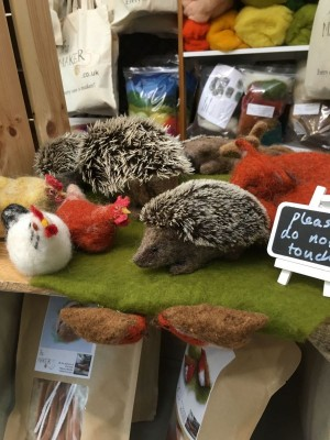 The Makerss felted animals