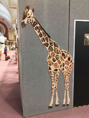 Embroidered Giraffe
