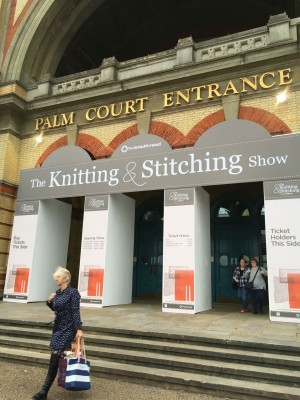 Entrance to The Knitting & Stitching Show