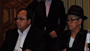 Augusto  Estrella, MCCH, Rosa Guaman, CECJ