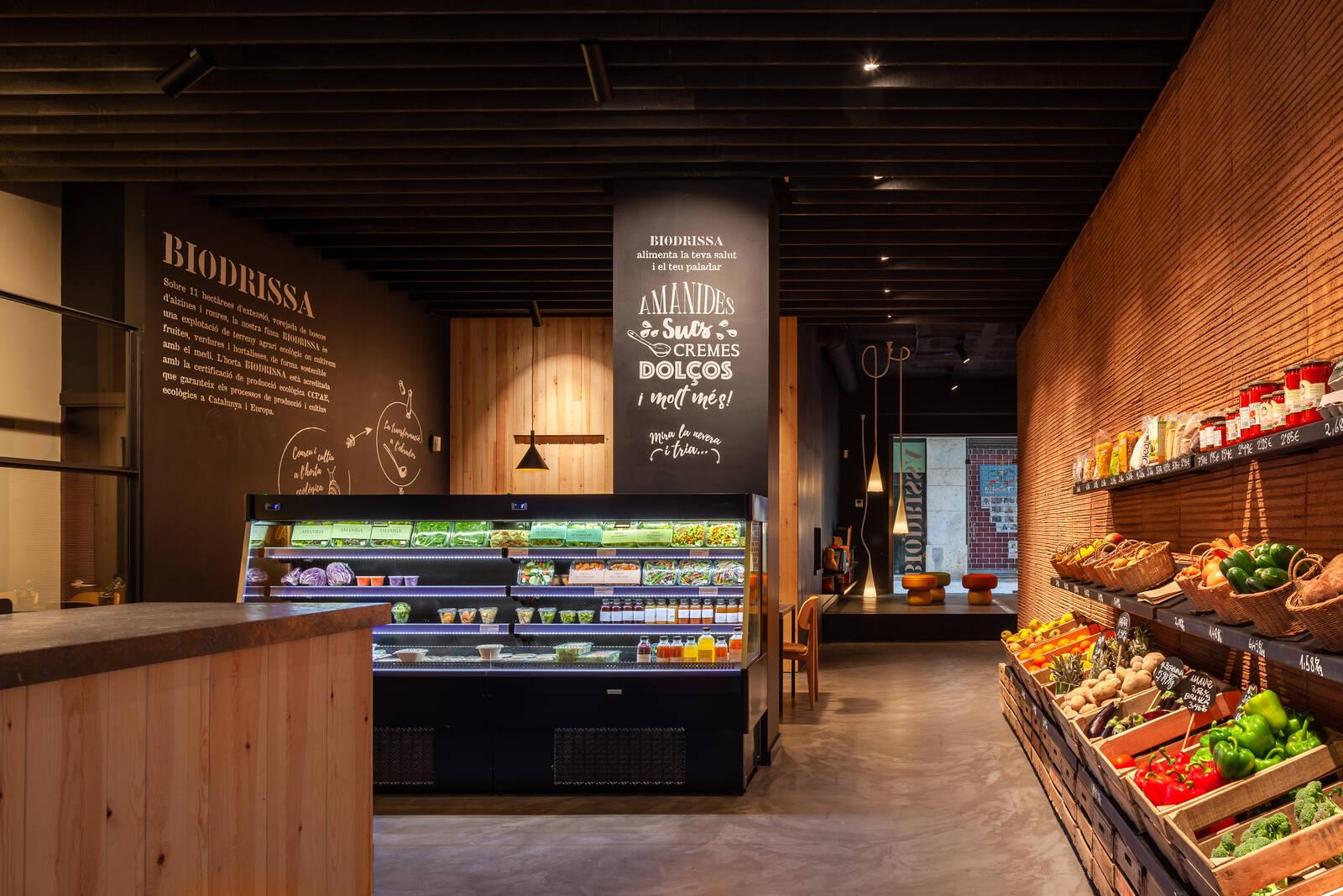 Botigues Biodrissa de producte ecològic