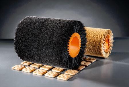 Aplicacion cepillo cilindrico rodillo impregnaciones