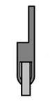 cepillo burlete flexible burbuja en h