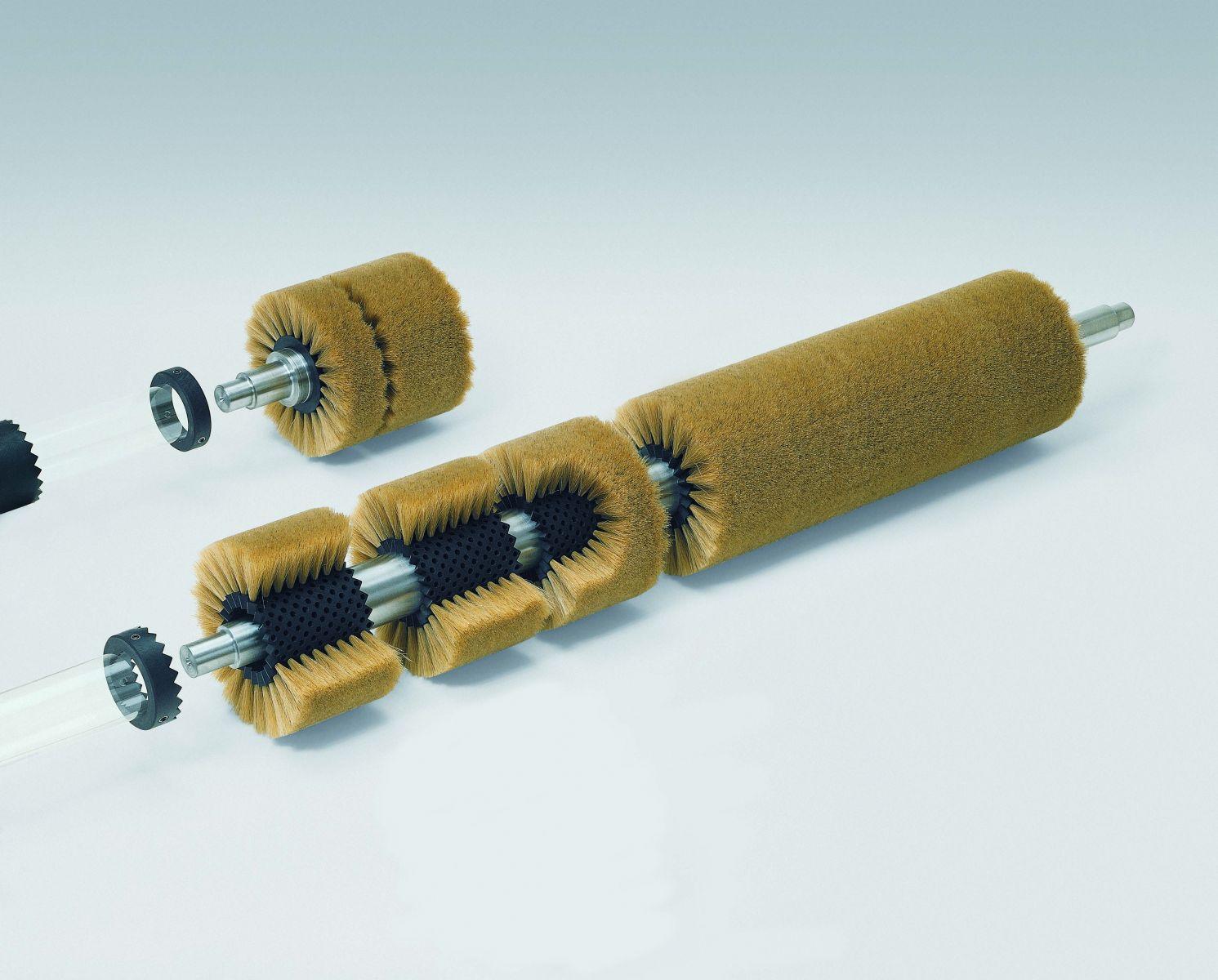 cepillo cilindrico rodillo modular dentado