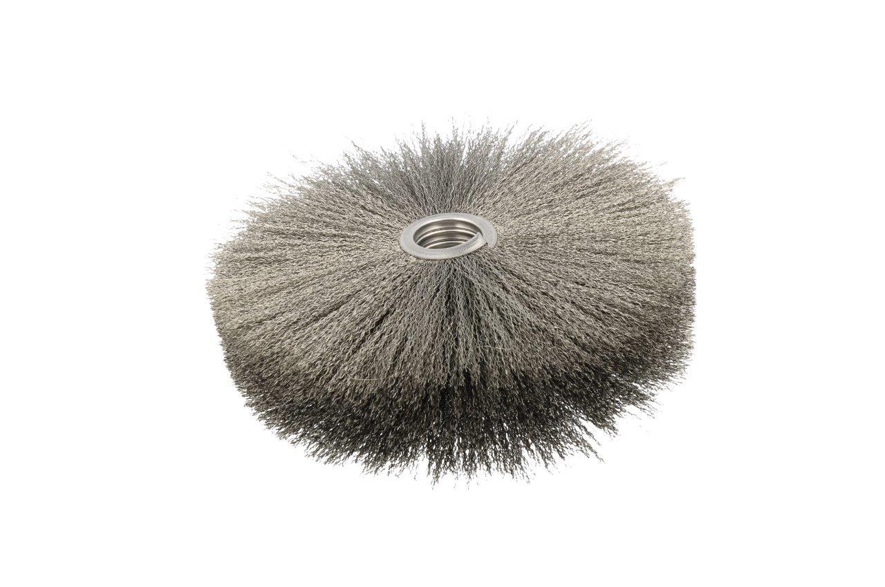 cepillo en espiral metalico