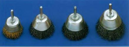 cepillo herramienta eje conico acero inox y laton