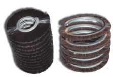 cepillo de lomo metálico en espiral simple