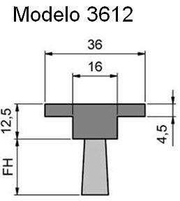 cepillo-burlete-flexible-3612 para ranuras y perfiles