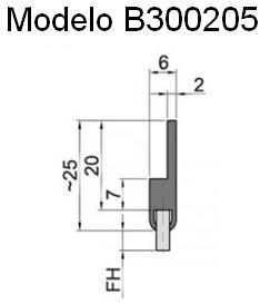 cepillo-burlete-flexible-B300205 burbuja