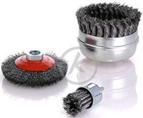 cepillos herramienta con eje, tipo taza y conicos