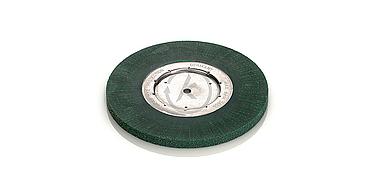 foto cepillo circular disco unico laton masa plastico