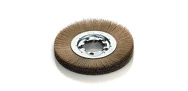 foto cepillo circular disco unico laton