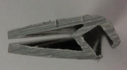 perfil pinza plastica