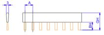 plano cepillo antiestatico fibra de carbono