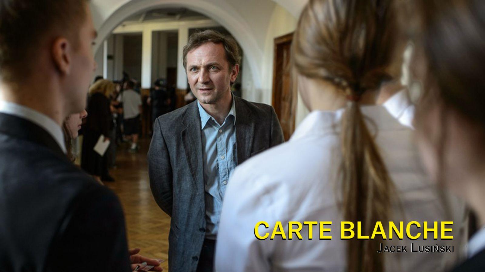 Carte blanche, Jacek Lusinski