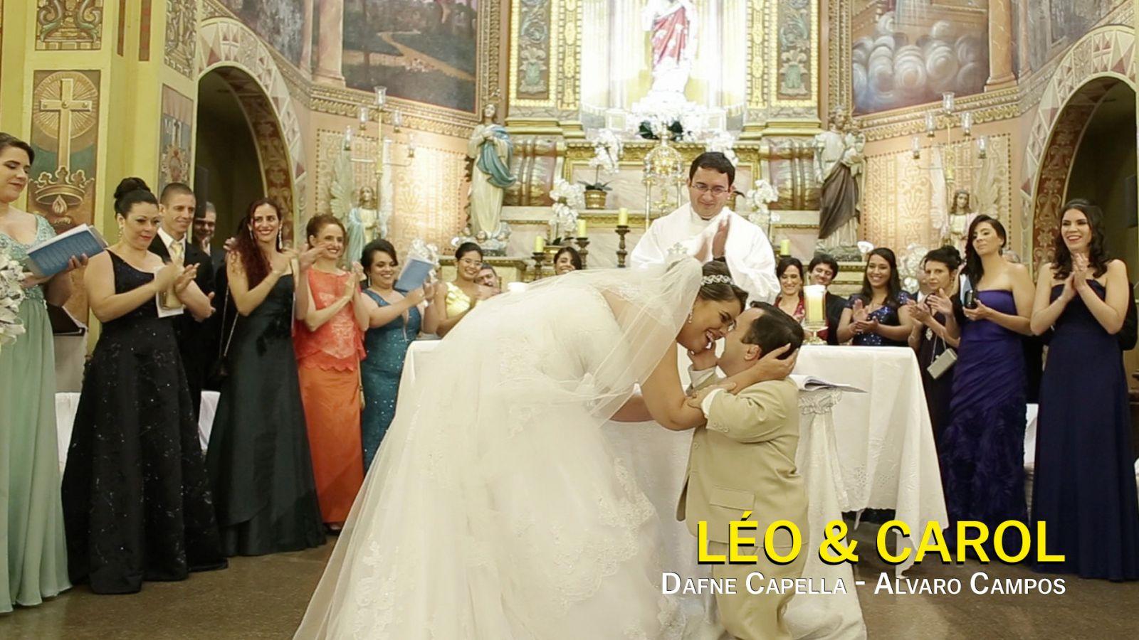 Leo y Carol, Dafne Capella- Alvaro Campos