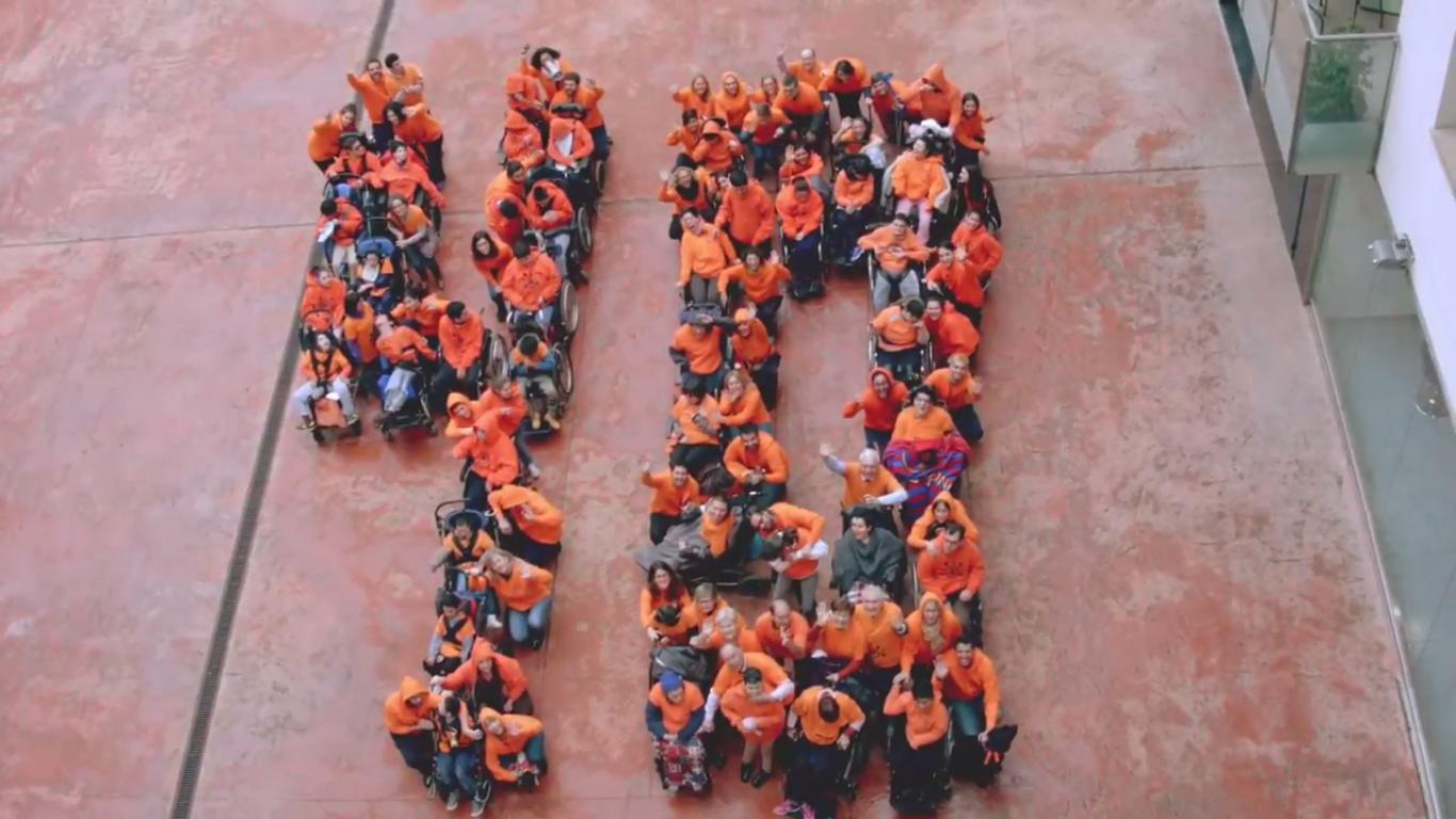 Imagen del video 40è aniversari Associació Esclat