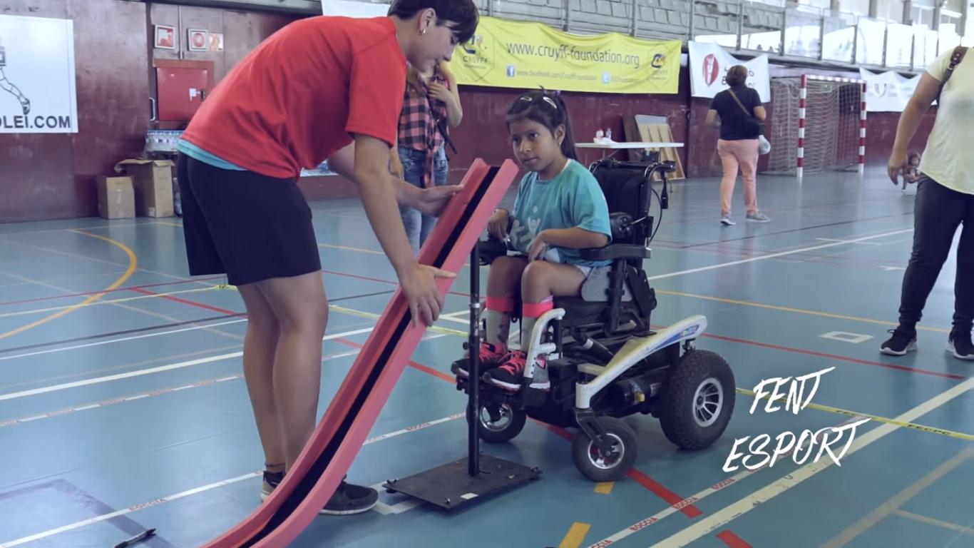Imagen del video Vive el deporte inclusivo