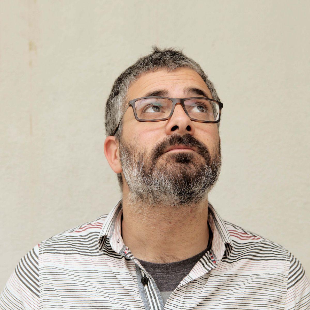 Foto Pau Ortiz, director El desequilibrio perfecto