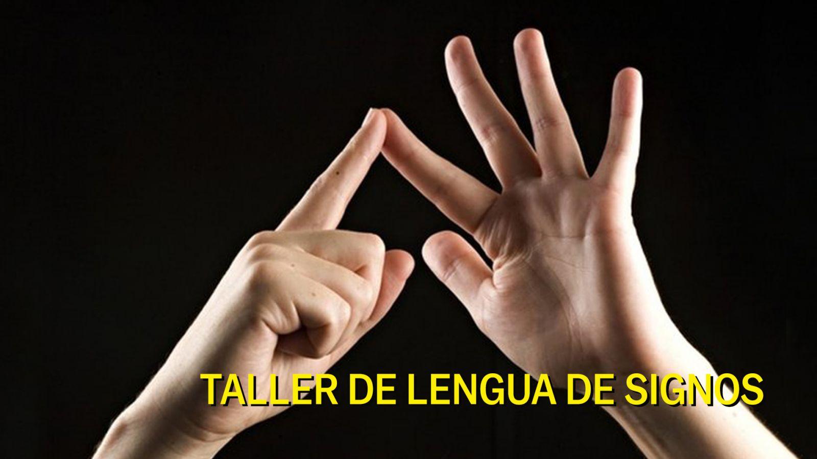 Taller lengua de signos
