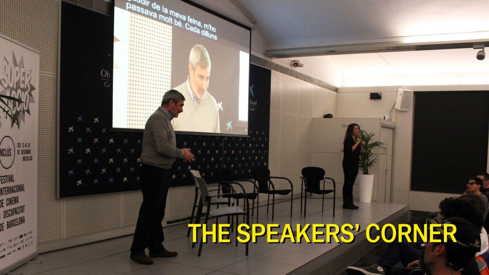 The speakers' corner