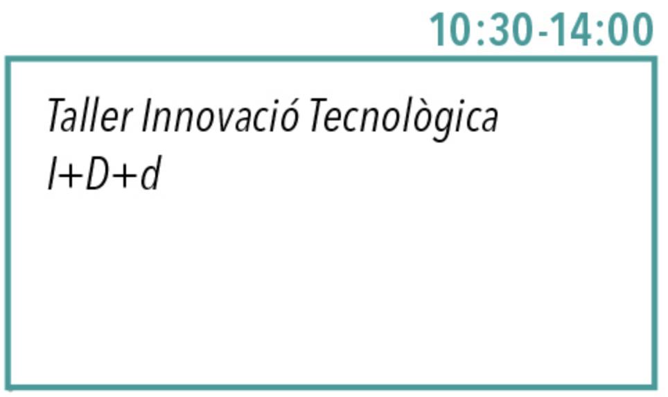 1:30-14. Taller Innovació tecnologica