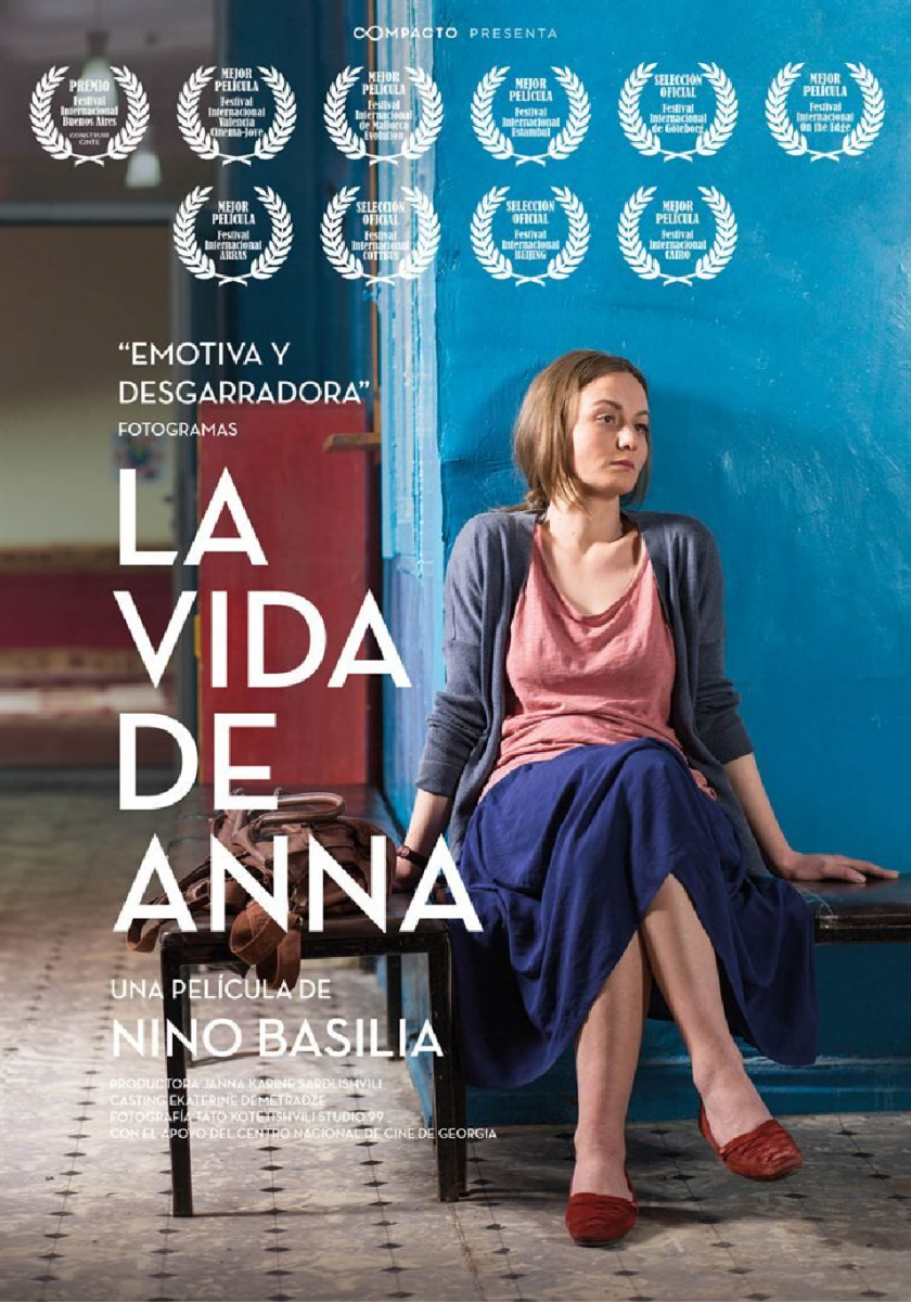 Cartel La vida de Anna