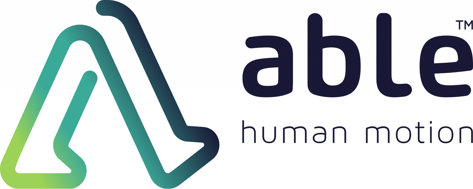 Logo ABLE human motion