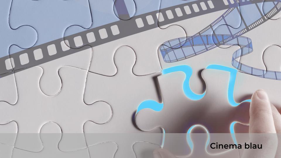Cinema blau