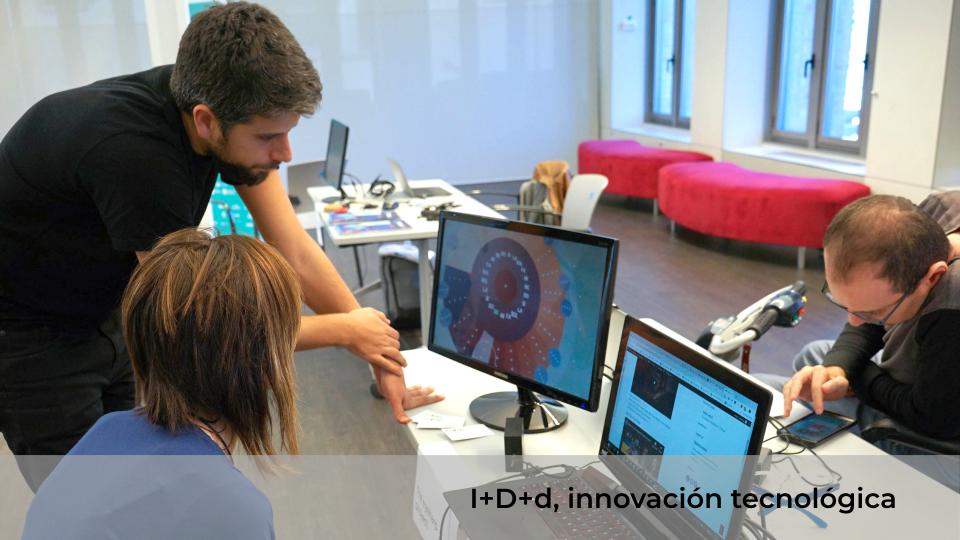 Taller de innovación tecnológica I+D+d (innovación + desarrollo + discapacidad)