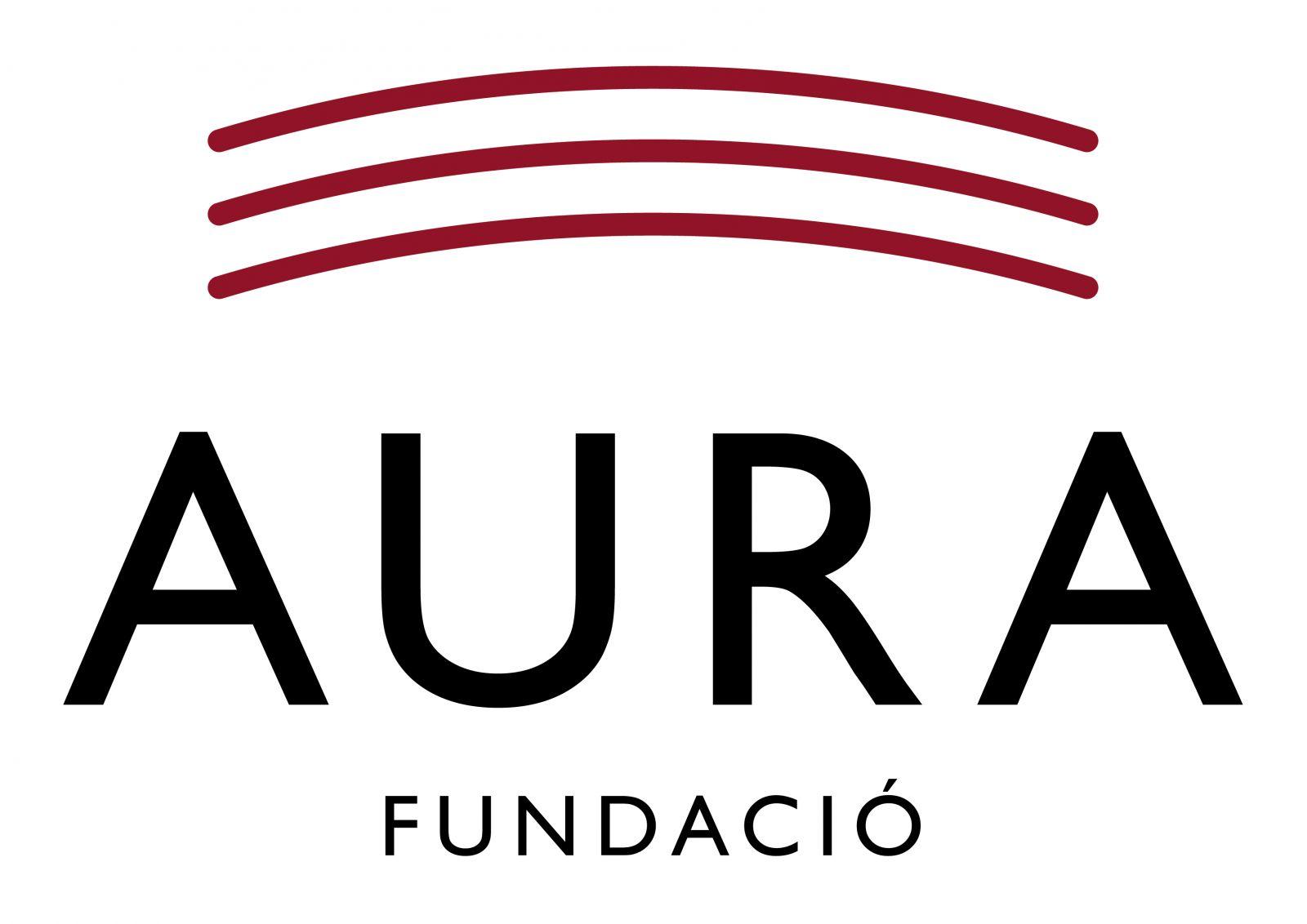 Logo Aura Fundació