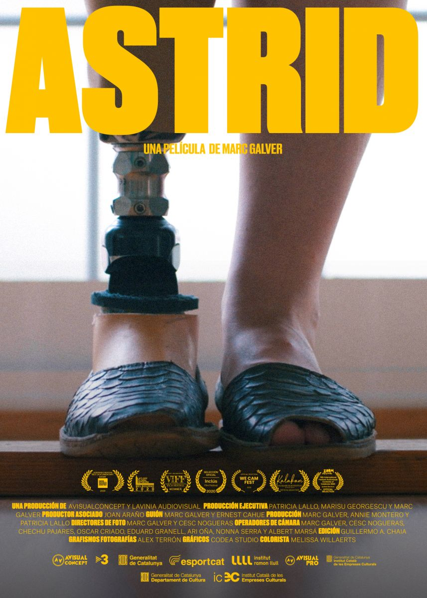Cartel de Astrid
