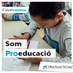 Logo La Caixa Proinfància